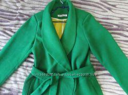 пальто стильное в подарок шелк шарф
