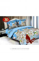 Постельное белье поликоттон 3D TG088 - Таг текстиль