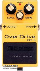 Boss OD-3 Overdrive Педаль эффектов для гитары