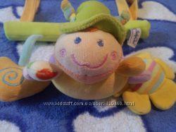 Подвесная игрушка-погремушка BabyOno на липучках
