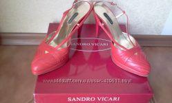 Туфли Sandro Vicari с открытой пяткой Италия