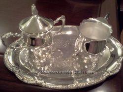 Набор посуды сахарница  емкость для сливок