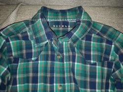 Стильные рубашки  в клетку Waikiki 12-13 лет