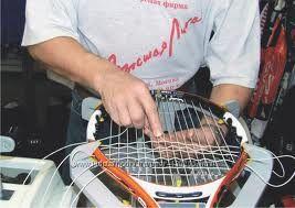 Натяжка струн на теннисные ракетки Киев