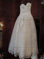 Свадебное платье на невысокую, худенькую девушку