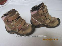 Теплые деми ботиночки Bartek, натуральная кожа, р. 21