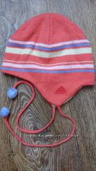 Демисезонная шапочка для девочки Adidas, р. 48-50