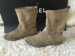 Замшевые ботинки сапоги US POLO ASSN, 39р Оригинал