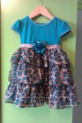 Комплект Платье  и лосины. 2Т