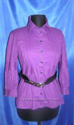 Супер Цена  Модная Рубашечка с пояском В наличии