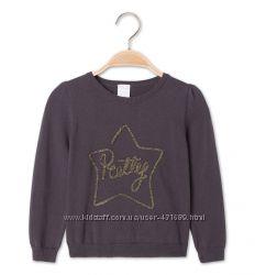 Тонкий хлопковый свитер для девочки от Palomino. 116 р-р.