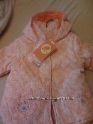 Комплект Оранжевый верблюд куртка, полукомбинезон 86 рост