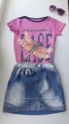 Фирменная юбка Gloria jeans на рост 100-116 в идеальном состоянии