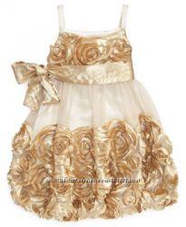 Брендовое платье для принцессы BONNIE JEAN, размер 4.