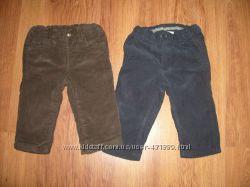 Вельветовые штанишки для двойни