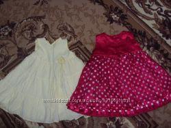 нарядные платья для девочки 9-12м