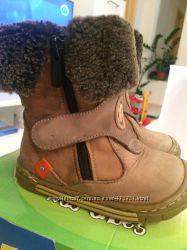 Bebetom зимние ботиночки, натур. мех, 23 размер