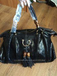 Брендовая сумка Gucci натур кожа люкс-качество в наличии 2 модели