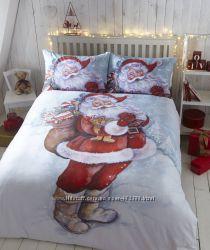 Новогоднее детское и взрослое постельное белье
