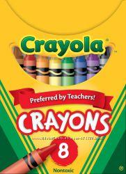 Цветы карандаши Crayola 8шт. , 16шт. и 24шт.