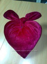 Декоративная подушка Сердечный узелок