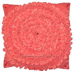 Декоративная подушка Розовый коралл