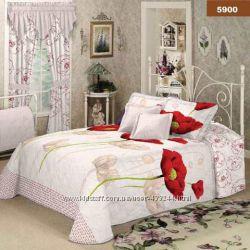 Комплект постельного белья с маками Viluta Украина 5900
