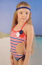 Качественный сдельный купальник для девочек от 2-х до 6 лет