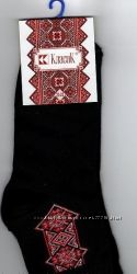 Носки демисезонні  жіночі з вишивкою