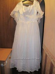 Платье свадебное р. 48-50