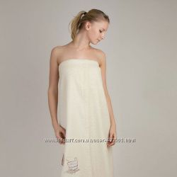 Полотенце-юбка махровое для сауны для дома халаты, юбки