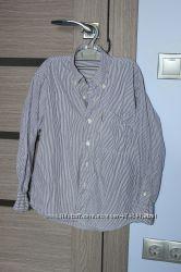 Фирменная рубашка рост 134-140