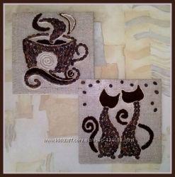 Ароматные кофейные мини-панно