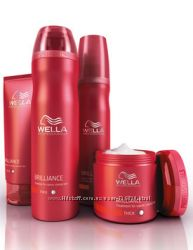 Wella Professionals Brilliance шампунь для жёского, окрашенного волоса