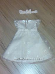 Шикарное платье цвета айвори