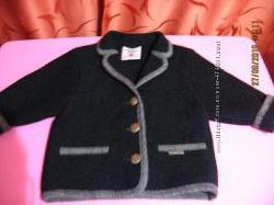 Пальто на 3 года, 100 натуральная шерсть, made in Austria