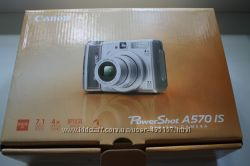 Фотоаппарат цифровой Canon Power Shot A570 IS