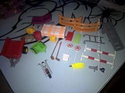 Playmobil Деталі чоловічки тварини човен меблі шапка