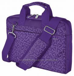 Сумка для ноутбука Trust Bari Carry Bag Purple hearts