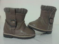 новые ботиночки ZARA из натуральной кожи 18р