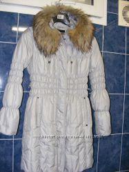 качественная удлиненная куртка пух
