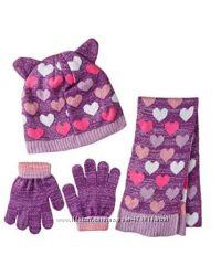 Набор шапочка, шарфик, перчатки Toby