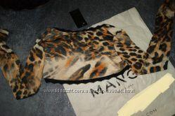 Леопардовое болеро MANGO
