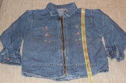 Продам джинсовую рубашку и джинсовый сарафан