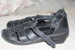 Туфли кожаные-мега удобные
