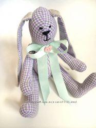 Зайка тильда, нежный подарок дочке девушке сыну маме оригинал игрушка