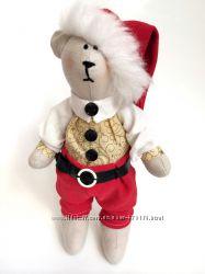 Мишка новогодний, оригинальный подарок праздник