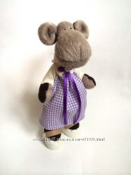 Обезьянка, под заказ игрушка обезьяна мартышка тильда оригинальный подарок