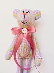 Нежный мишка тильда, оригинальный подарок на день Святого Валентина 8 Марта