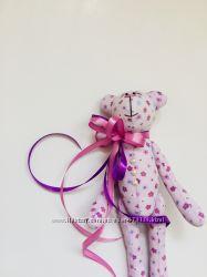 Тильда Мишка оригинальный подарок дочке девушке любимой подружке парню